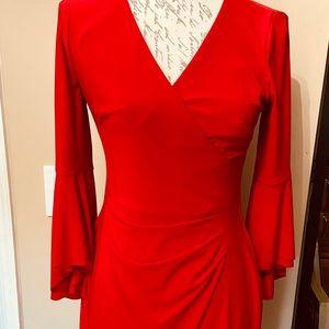 Ralph Lauren Bell Sleeves Cocktail Dress